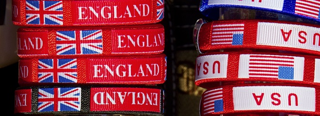 British English versus American English
